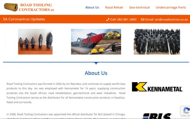 CMS Business Website