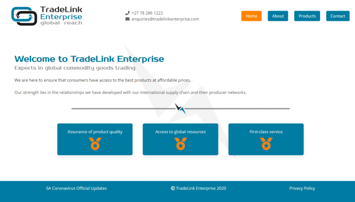 Statics Business Website